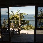 Wonderful views through the patio doors