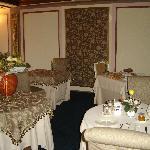 sala ristorante in villa