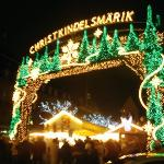 Part of the Christmas market.