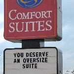 You deserve an oversized Suite
