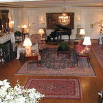 Elegant accommodations, the Great Room