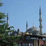 mosque from terace