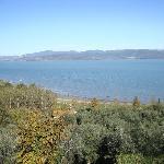 vista lago da Castiglione