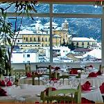 """Vistas nevadas desde nuestro Restaurante """"La Terraza"""""""