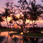 Stunning Sunset at the Samaya