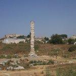 The Temple of Artemis (Artemision) Foto
