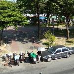 Community park opposite hotel
