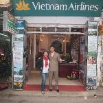 Ha in front of Viet Fun 3