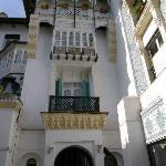 Hotel El Djazair facing the garden