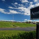 Accent on Taupo Sign