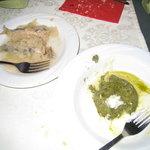 Sardines & Spinach Flan