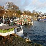 Historischer Fischerhafen als Gorumet- und Anglerparadies