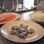 gnocchi di papate verdi, cannelloni with crabmeat, ravioli di aragosta
