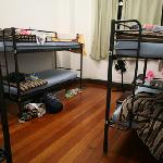 部屋はちょっと狭いけど、快適