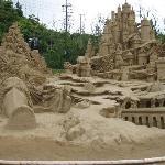 砂像フェスティバル!砂とは思えません