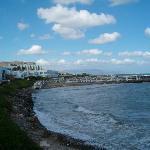 vue plage lendemain de mauvais temps