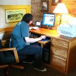 The computer in the lobby (free)