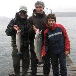 Resultado de la excursión de pesca