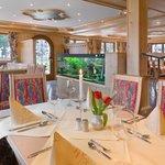 Gasträume im Hotel am Tegernsee im Café Held in Bad Wiessee