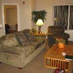 Living Room - 1 Bedroom Unit