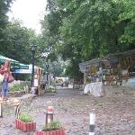 Andriyivskyy Uvziz  Literally Andrew's Descent. Probably the most well known street in Kiev. M