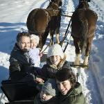Enjoy a western tradition - Sleigh and horseback rides