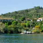 The Quinta from the lake