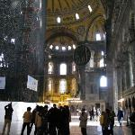 The magnificent Hagia Sophia is within walking distance from the Hotel Arasta