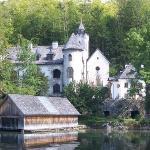 private castle in Hallstatt