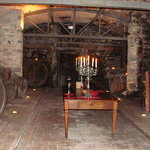 One of the cellars we tasted in.