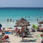 """spiaggia di """"es trenc"""""""