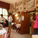 The restaurant - inside