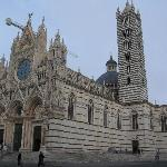 Beautiful church in Siena