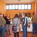 Winetasting room in San Gimignano