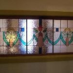 Stained glass from Floraville East Suite