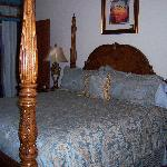 Bedroom of Floraville West Suite