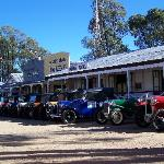 Great collections of Austin 7 visited the village.