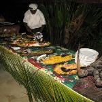 Melanisian feast