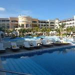 Beautiful pool in the morning