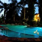 Take a dip in the pool in the evening - a great way to cool off!