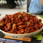 4 lbs crawfish = $25.