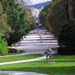 Ljubljana, Tivoli, miesto, kam treba zájsť