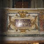 altar of St Sebastian by Ferri of 1672