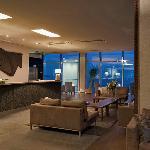 Hotel Bellevue reception area