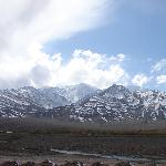 View from the room of Stok Range