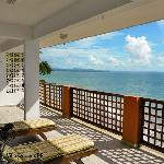 Caribbean Beachfront Balcony