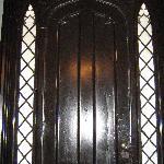 gothic style front door