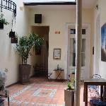 entrance/patio