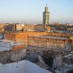 Desde la terraza de Riad Zahraa