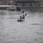 Manzanillo Mexico 2006 (Ally and Rachel kayaking)